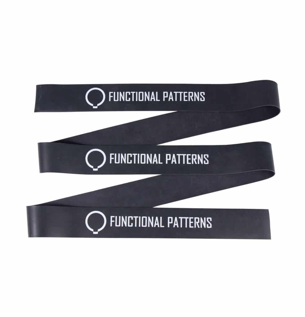 Mobility Bands Functional Patterns – Preta e Vermelha